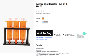 """According to the company website, Urban Outfitters offers """"a lifestyle-specific shopping experience for the educated, urban-minded individual in the 18 to 30 year-old range"""". Why does an 18-year-old need these? Why does anyone need these?"""
